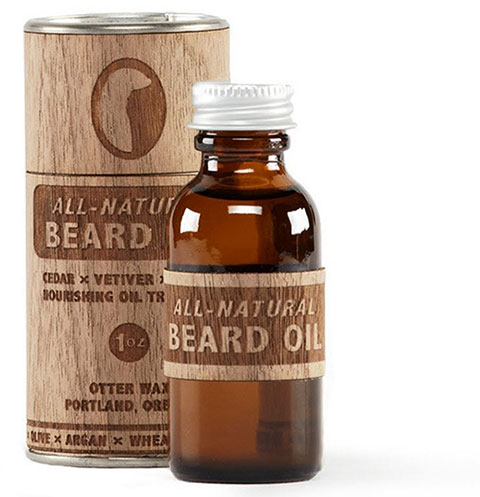 Photo of Otter Wax beard oil.