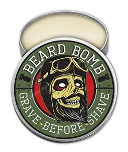 Beard balm by grave before shave