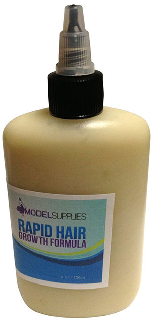 Rapid beard growth formula