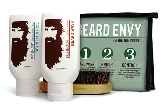 Photo of a beard care kit.