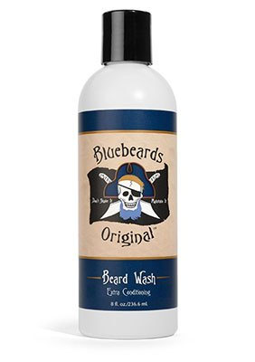 A photo of Bluebeard's beard conditioner.