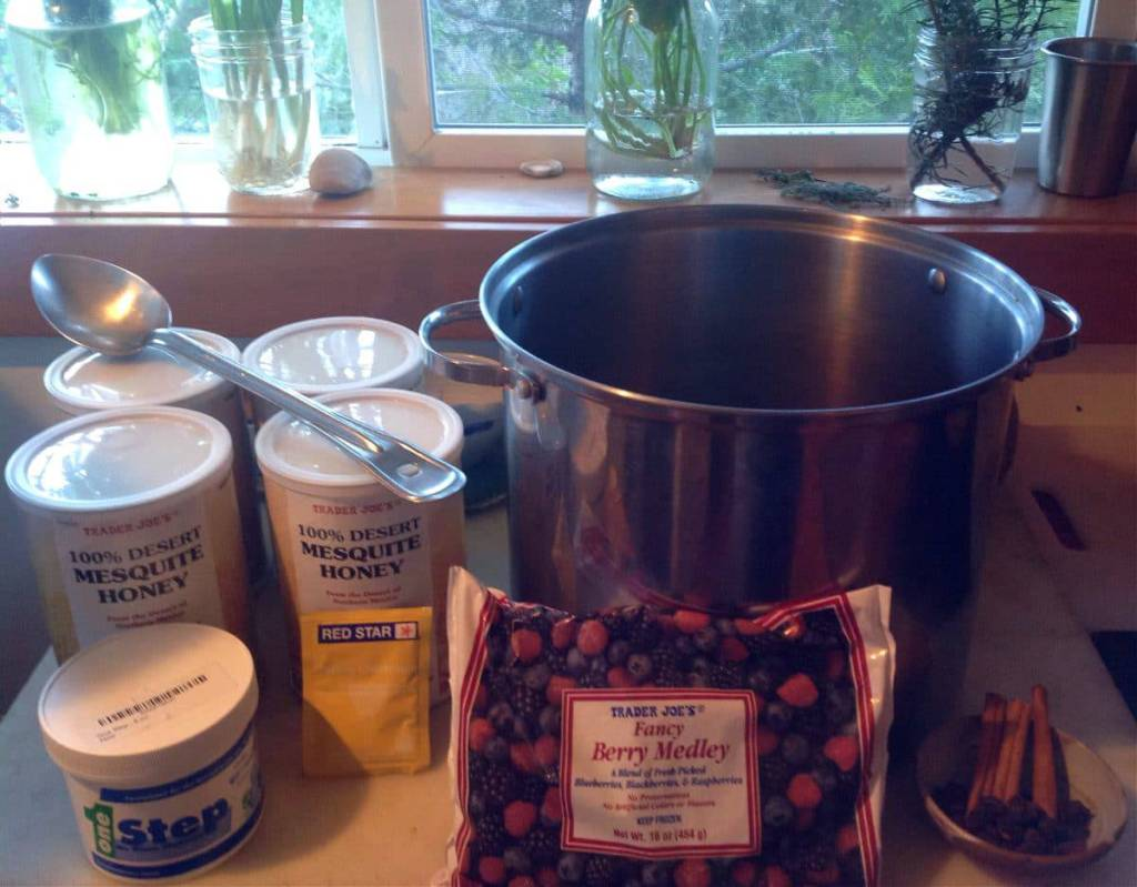 how to make 5 gallons of mead