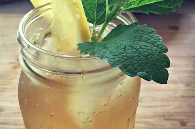 lemon balm green tea