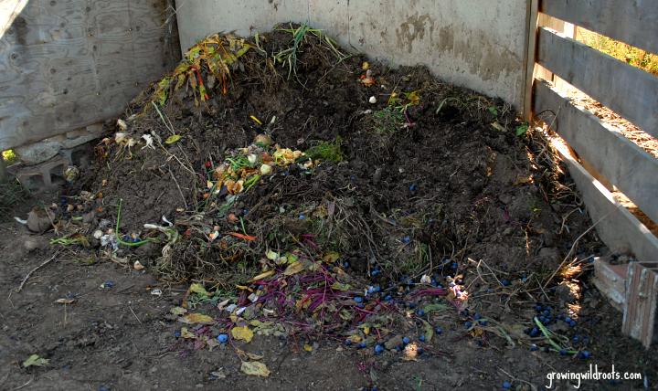 Easy composting