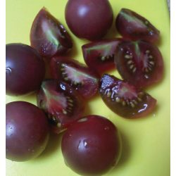 Small Crop Of Black Cherry Tomato