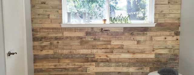 DIY Nursery Wood Pallet Wall
