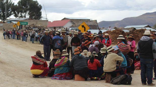 """Las Bambas: comunidades rechazan """"agendas oscuras"""" de asesores"""