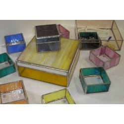 Small Crop Of Glass Jewelry Box