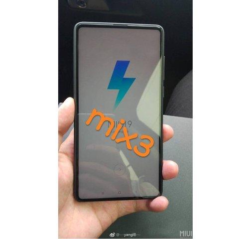 Tak podobno wygląda Xiaomi Mi Mix 3 / fot. Phone Arena