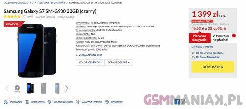 promocja Galaxy S7