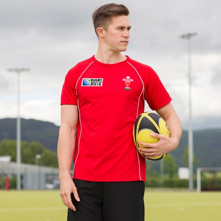 Wales Rugby 2015 shirt