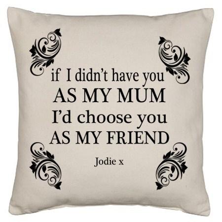Mum friend cushion