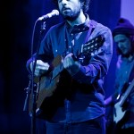 Jose Gonzalez performs with his band Junip at the Sasquatch 2012 launch party.