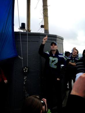 Ben Gibbard atop the Space Needle