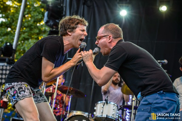 2013.08.31: !!! @ Bumbershoot - TuneIn Stage, Seattle, WA