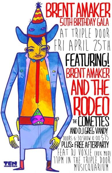Brent Amaker's 50th Birthday Gala