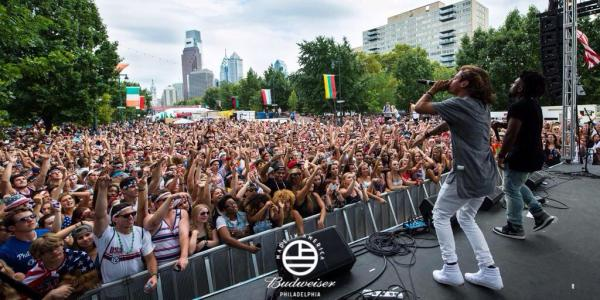 OCD: Moosh & Twist from Budweiser's Made in America Festival in Philadelphia - August 30, 2014