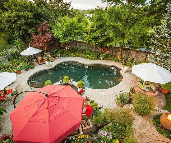 Giardino Zen Quadrato : Idee intelligenti per realizzare un giardino senza manto