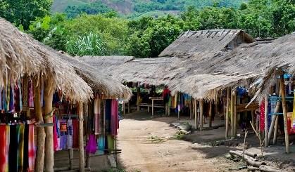 Puestos del poblado