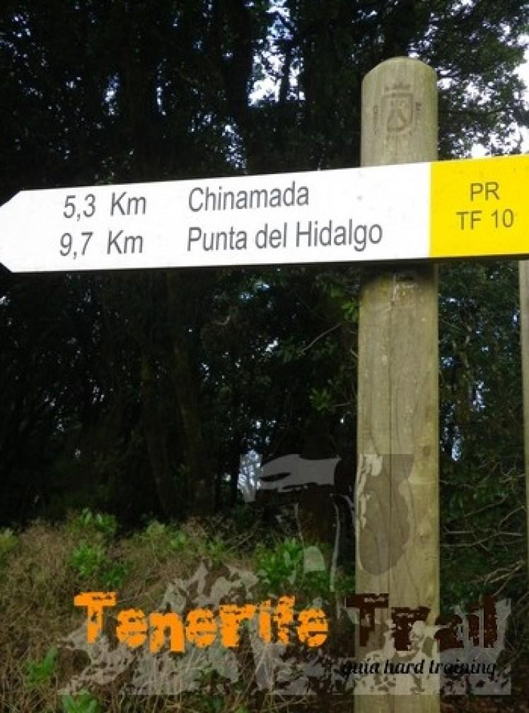Cruz del Carmen detalle sendero