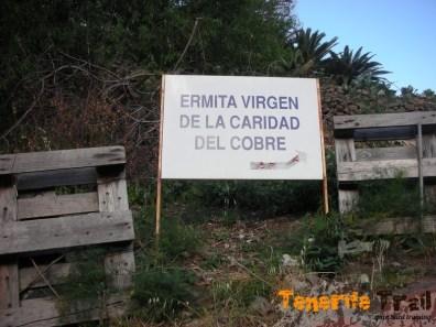 En la misma subida al barrio de Azanos (Taganana)
