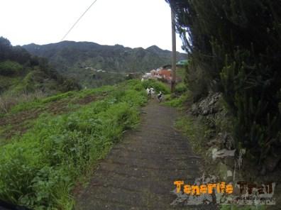 Ya en Roque Negro según esta imagen a tu izquierda en la primera calle