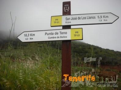 Hacía Punta de Teno por Cumbre de Bolico