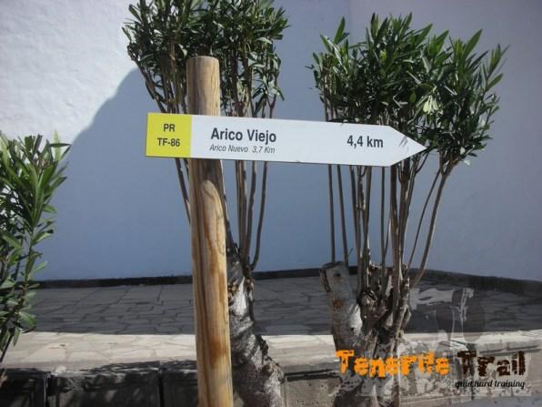 Desde Villa de Arico a los otros Aricos
