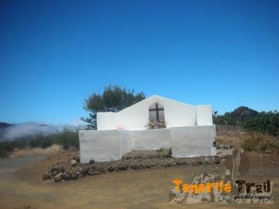 El Calvario punto donde paró la erupción del Chinyero cerca de Santiago del Teide