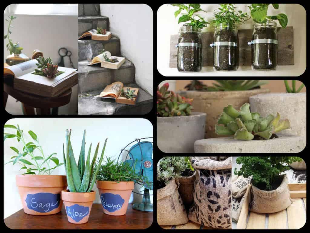 30 vasi fai da te guida giardino - Idee piante da giardino ...