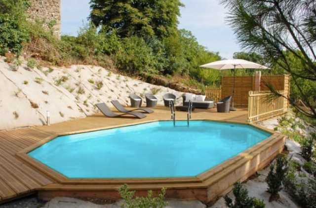 Guida giardino guida giardino - Giardino con piscina fuori terra ...