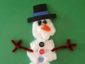 21 Easy Paper Plate Snowman Ideas For Your Kids   Guide Patterns Paper Plate Snowmen with Cotton Balls