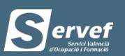 www.servef.es Renovar el paro en Valencia
