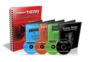 Fretboard Theory guitar music Bundle