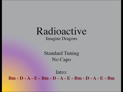 Radioactive – Easy Guitar (Chords and Lyrics) | Guitar Grotto