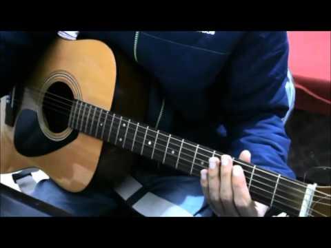 Tere Bina Rang Sharbaton Ka Easy Guitar Cover Lesson Chords