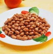 Fry peanuts