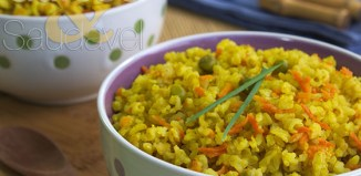 Receita de Arroz Integral com Curry