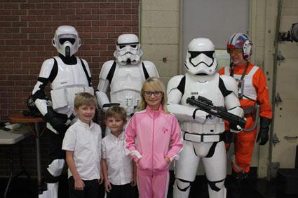 Star Wars at WSAV