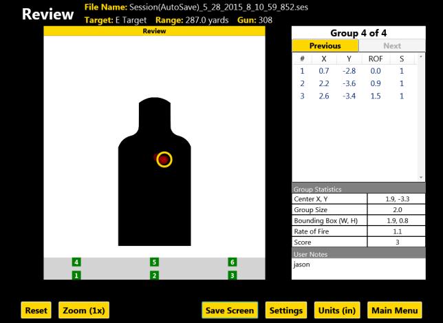 oakwood controls target system