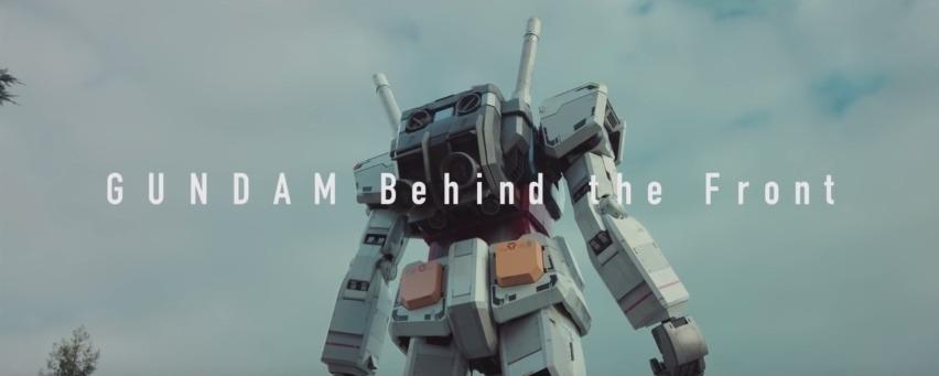 Gundam Behind the Front documentario
