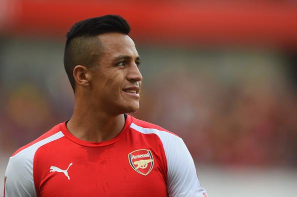 Alexis Sanchez Arsenal v Monaco ULr9vaLupGwl