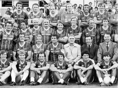 Gary Lineker centre, and Alan Smith far right in front row, can you spot another Arsenal legend in this photo of Leicester City's 28th centenary celebration?