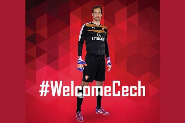 Arsenal-welcome-Cech