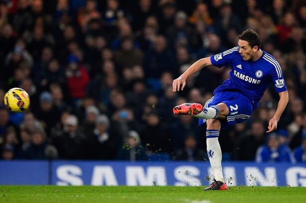 Matic commanded the Chelsea midfield.