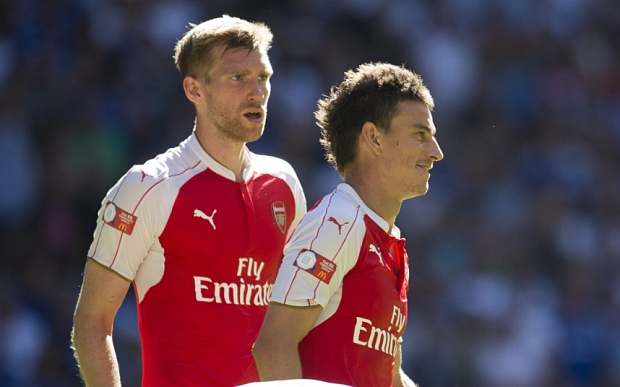Per and Koscielny up there with the finest centre back pairings under Arsene.
