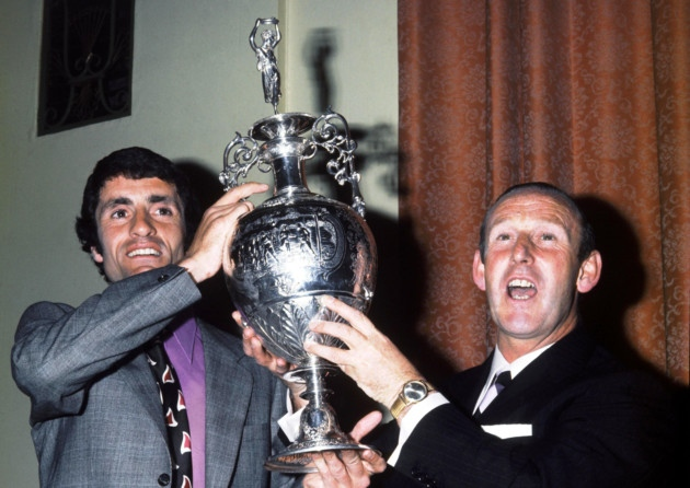 Bertie and his skipper in happier times