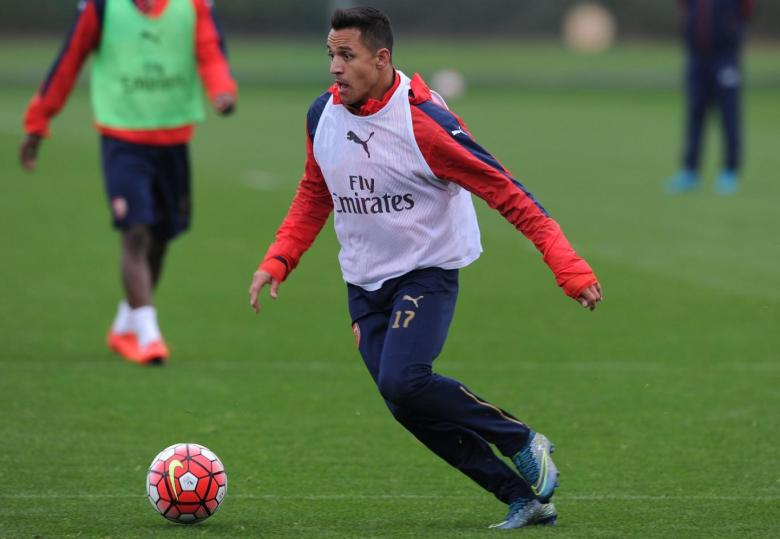 Alexis positive training this week