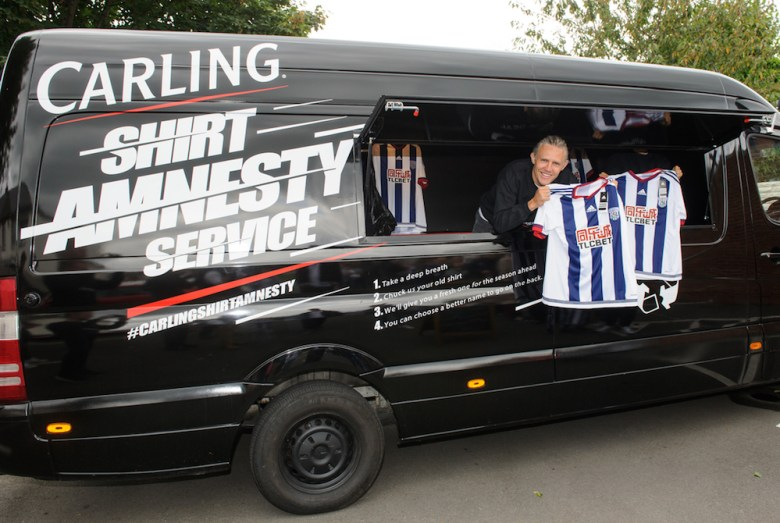 Carling Shirt Amnesty: West Bromwich Albion
