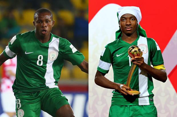 Kelechi Nwakali and Samuel Chukwueze